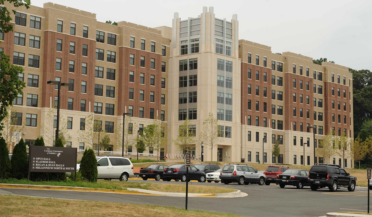 Opus Hall - Housing Services - Student Affairs - Catholic University of  America | CUA